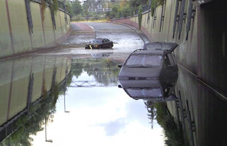 Klimawandel bestimmt Hochwasser